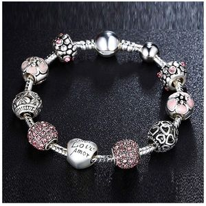 Jewelry - Love beads charms bracelet